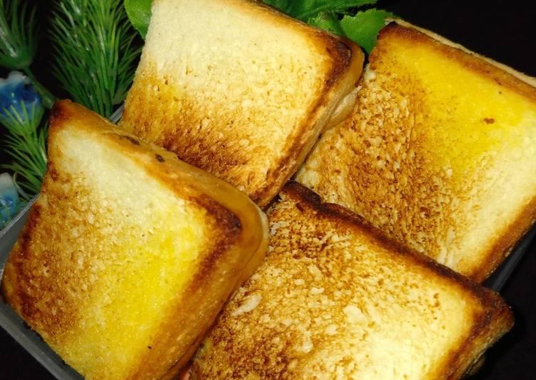 Resep Roti Bakar Teflon