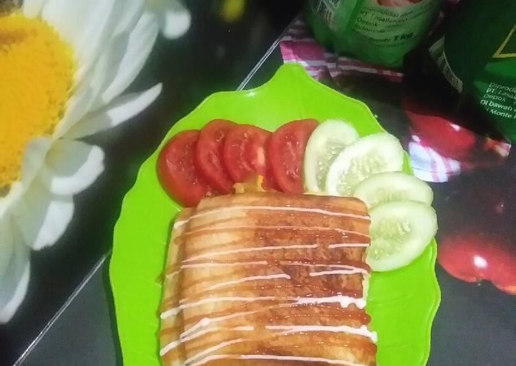 Resep Roti jhonn roti tawar