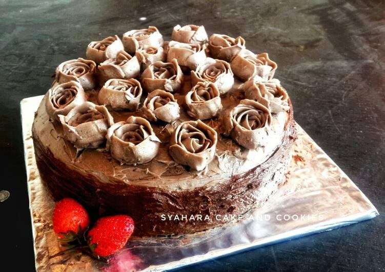 Resep Brownies Ross Cake B Day