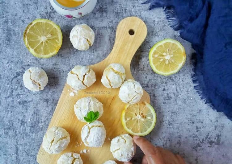 Resep Lemon Crinkle Cookies