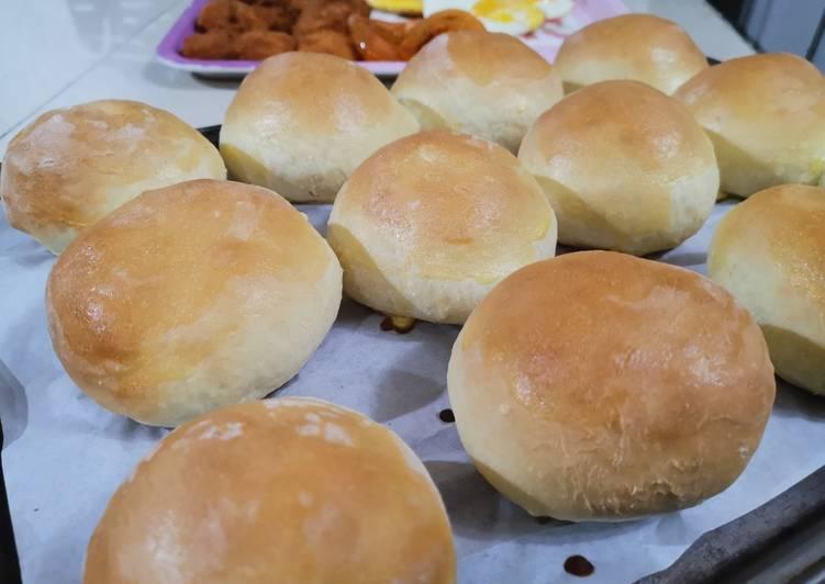 Resep Burger Bun Homemade