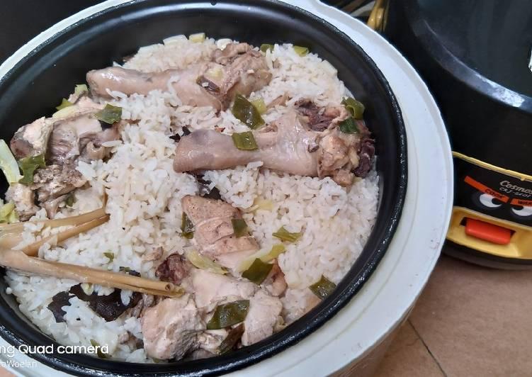 Resep Nasi hainan rice cooker
