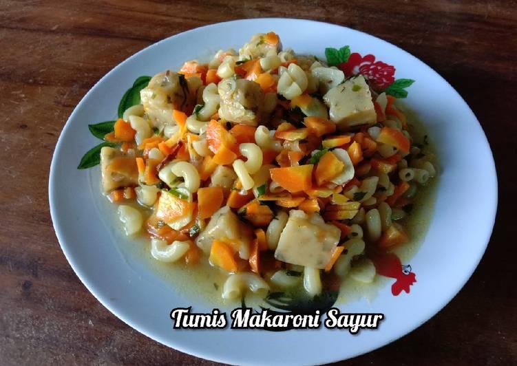 Resep Tumis Makaroni Sayuran