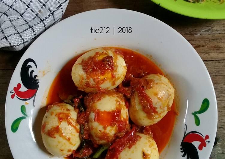 Resep Telur Masak Habang