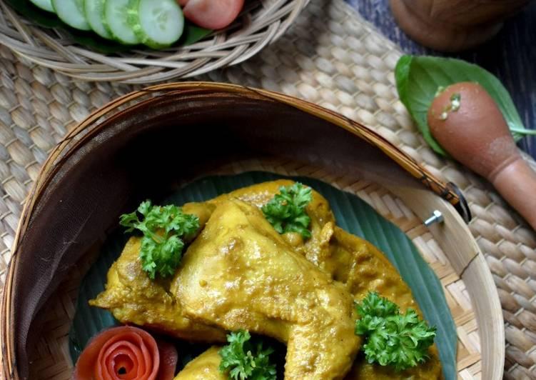 Resep Ayam Kampung Ungkep Goreng