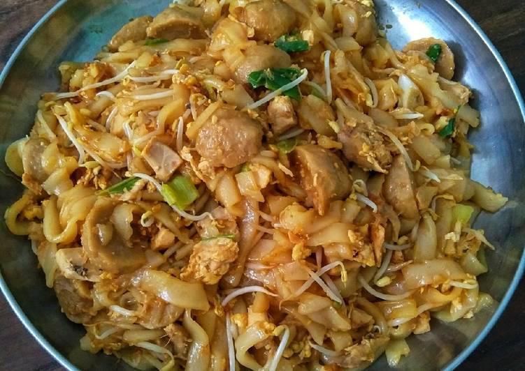 Resep Kwetiau Goreng Ayam