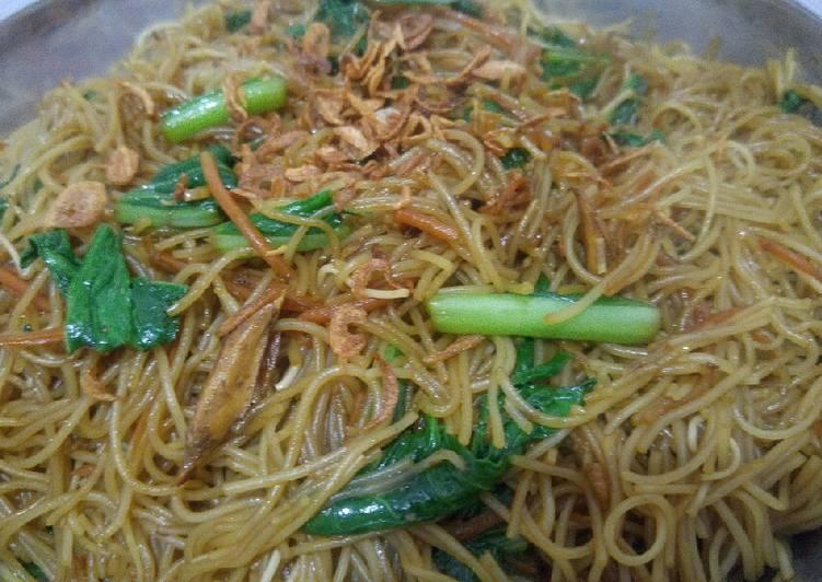 Resep Bihun goreng sederhana