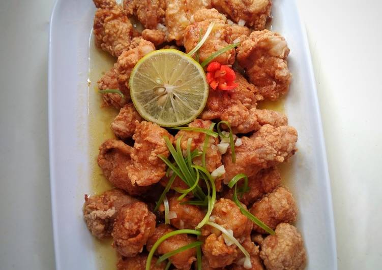Resep Chicken Lime Sauce