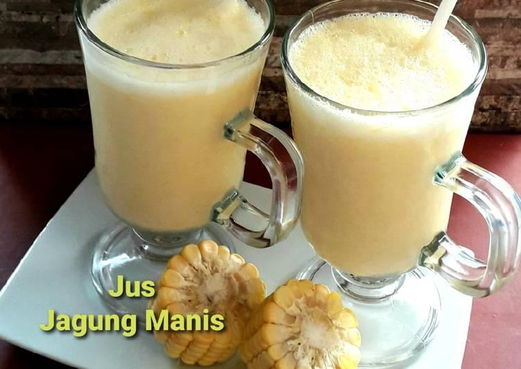 Resep Jus Jagung Manis