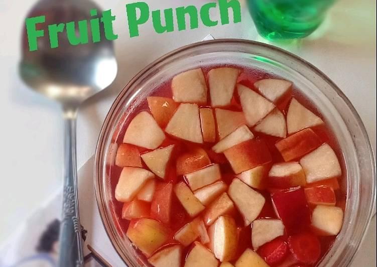 Resep Fruit punch