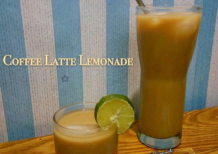 Resep Coffee Latte Lemonade