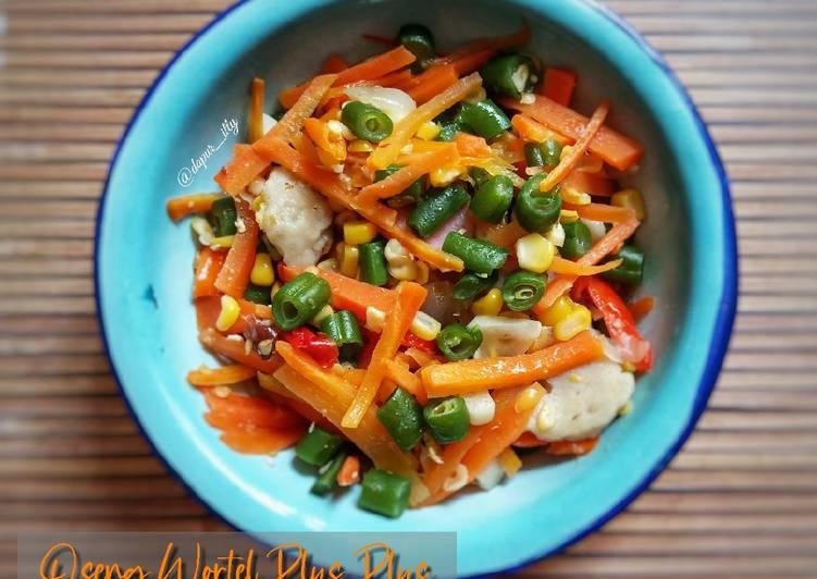 Resep Oseng wortel sayuran