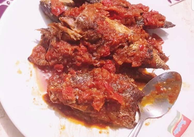 Resep Balado Ikan Kembung