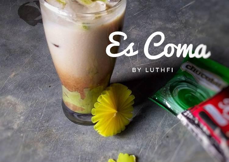 Resep Es Coma (Coffee Matcha)