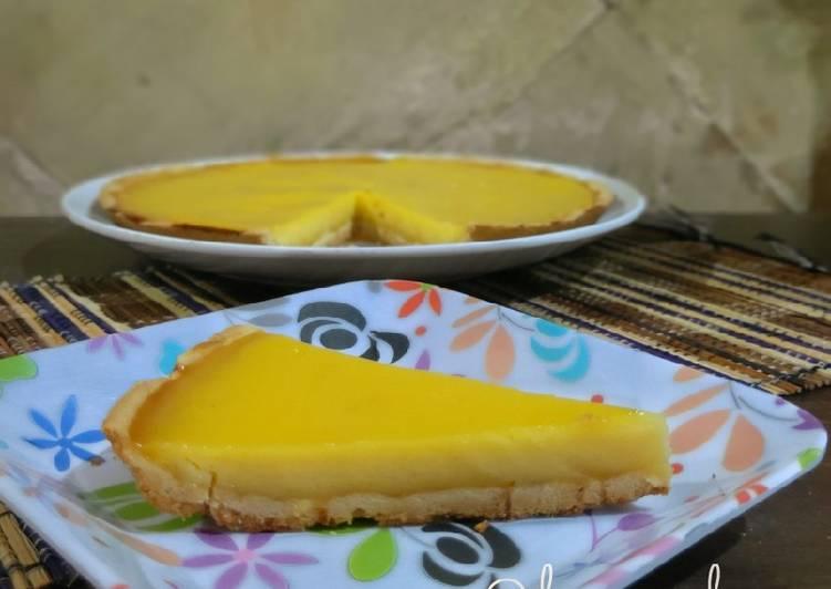 Resep Pie Susu Teflon Ekonomis Anti Gagal (takaran sendok)