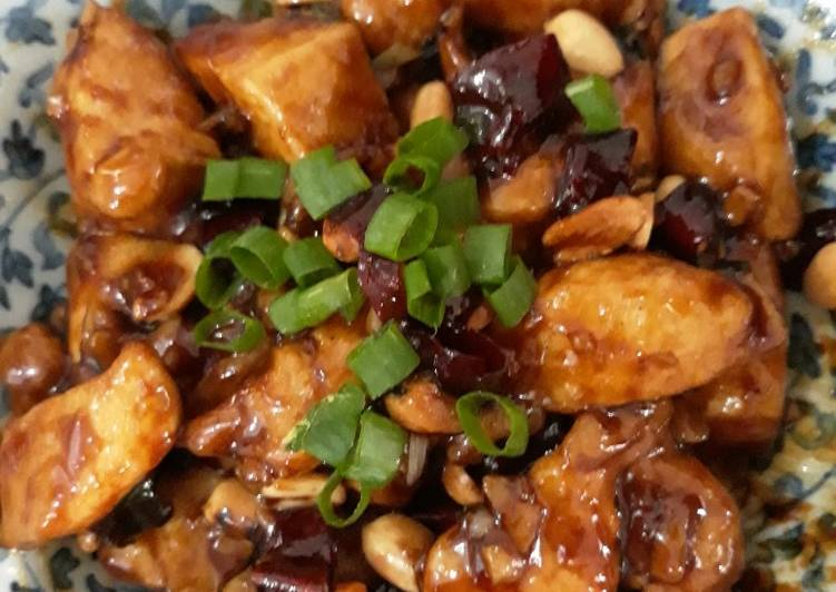 Resep Sichuan Kung Pao Chicken