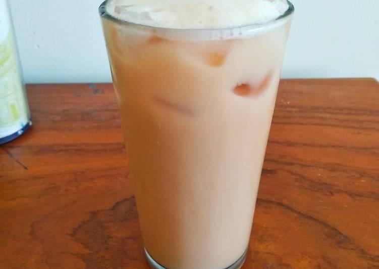 Resep Iced Milk Tea