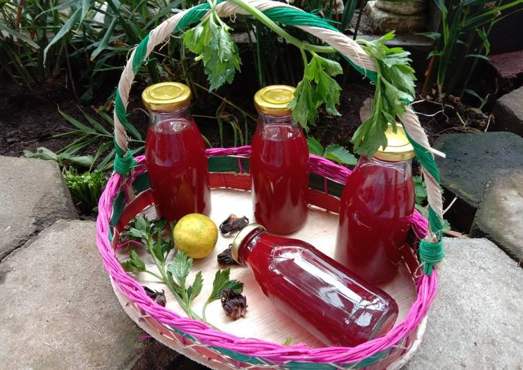 Resep Seleros Herb Drink