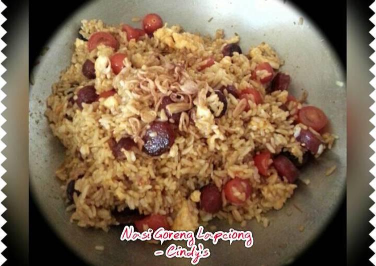 Resep Nasi Goreng Lapciong (Non Halal)