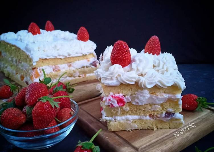 Resep Chantilly cake
