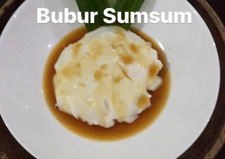 Resep Bubur Sumsum