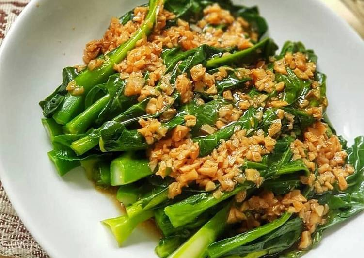 Resep Pakcoy bawang putih