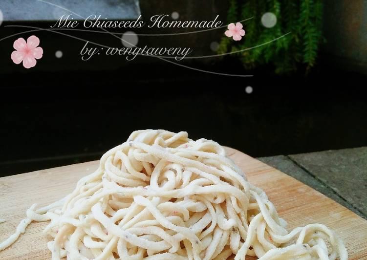 Resep Mie Sehat Homemade (tanpa telur)