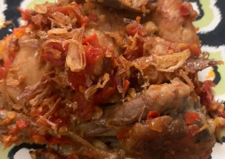 Resep Ayam Balado versi anak kos