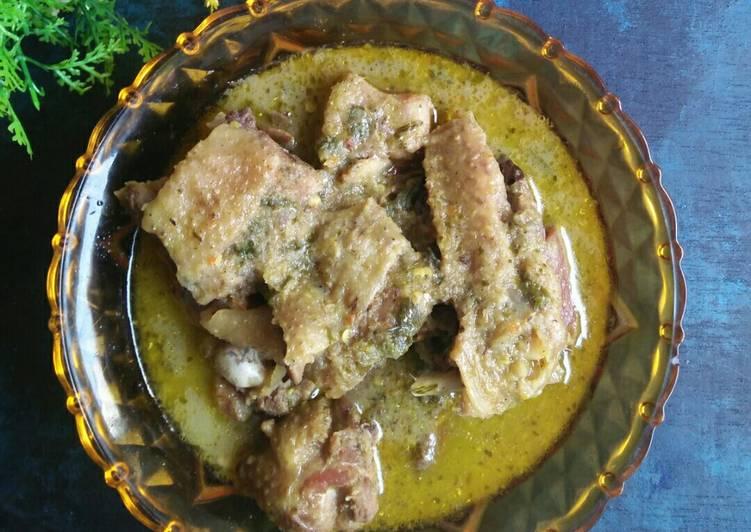 Resep Ayam Rica Kuah