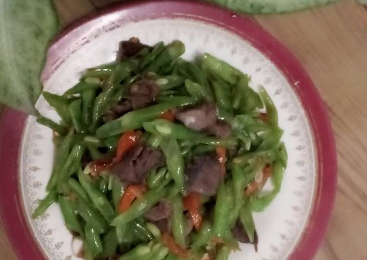 Resep Oseng Buncis Daging Sapi