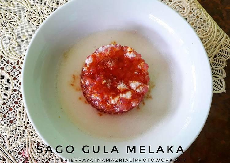 Resep Sago Gula Melaka