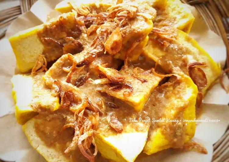 Resep Tahu Penyet Sambel Kacang (#pr_dibumbukacangin)
