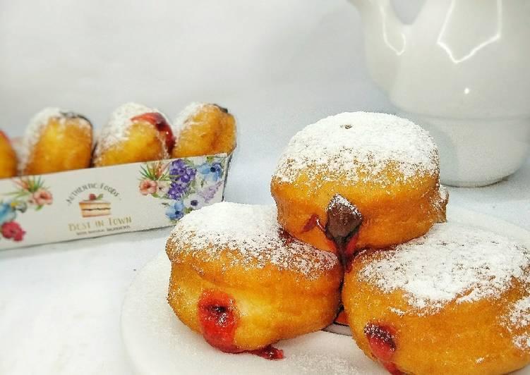 Resep Bomboloni aka Donat lumer (Doughnut)
