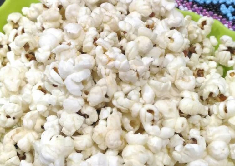 Resep Popcorn asin
