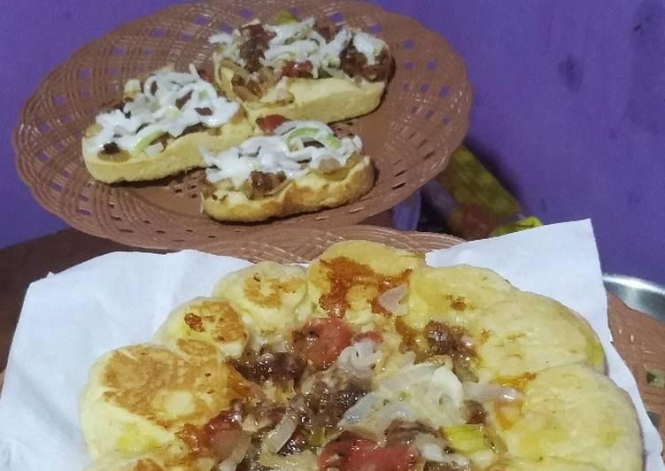 Resep Pizza Homemade Teflon Empuk (Tanpa Saus)