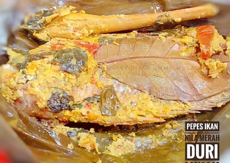 Resep Pepes Ikan Nila Merah Duri Lunak