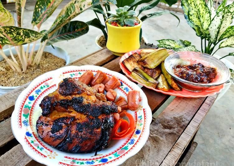 Resep Lalapan Ayam Bakar Simpel