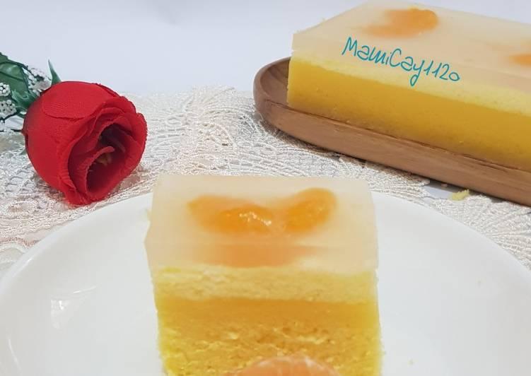 Resep Orange Puding Cake