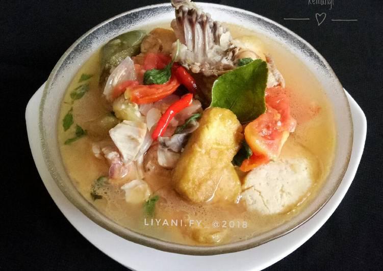Resep #2 Sop Ayam Tahu kemangi#rabubaru