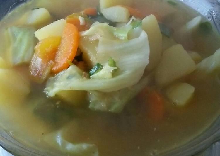 Resep Sayur Sop Simple