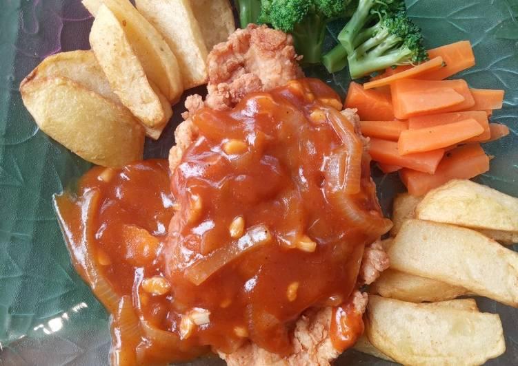 Resep Steak Ayam Sederhana