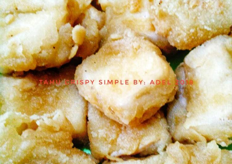 Resep Tahu Crispy Simple #BikinRamadanBerkesan