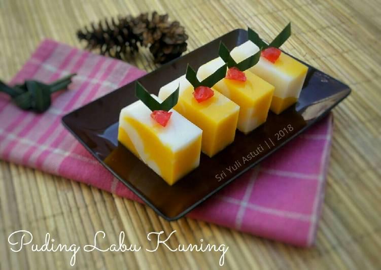 Resep #3 - Puding Labu Kuning #KamisManis