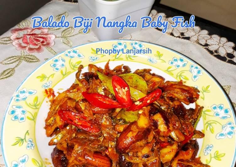 Resep Balado Biji Nangka Baby Fish