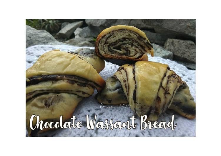 Resep Chocolate Wassant Bread