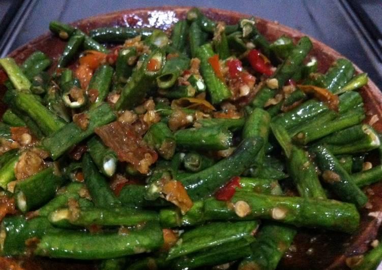 Resep Sambel Pencok Kacang Panjang