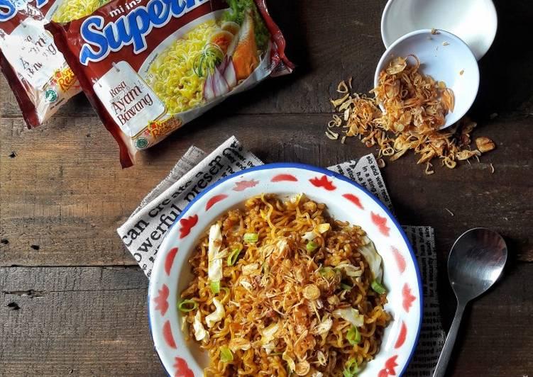 Resep Nasi Goreng Mawut Supermi