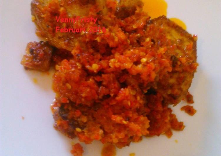 Resep Tuna Fillet Goreng Balado