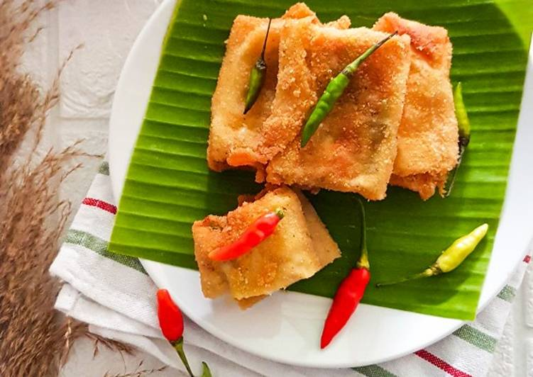 Resep Risoles isi ragout creamy cheese