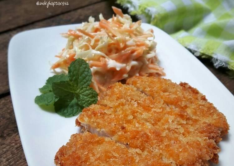 Resep Mini Chicken Katsu
